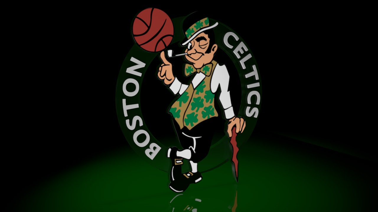 Boston Celtics Logo 3D