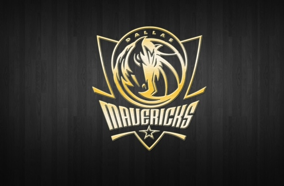 Dallas Mavericks Logo 3D
